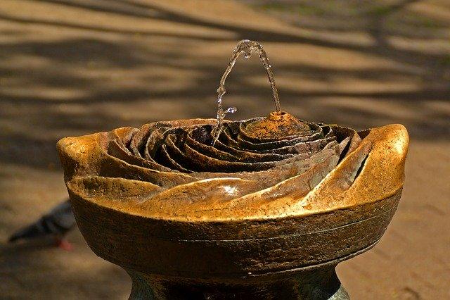 Vodopád bez hladiny.
