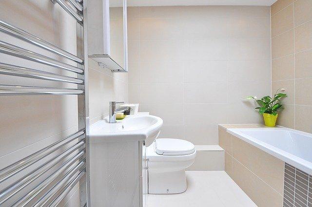 Menší koupelna