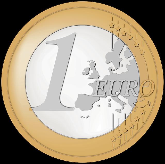 1 euro, mince
