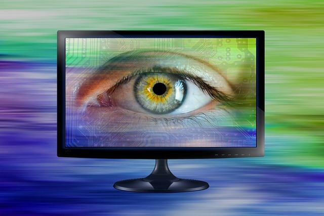 oko na monitoru